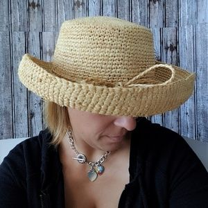 Tommy Bahama Accessories - Tommy Bahama Natural Straw Sun Hat
